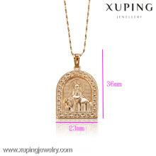 C201051-32079-Xuping Простой Дизайн Золото Ювелирные Изделия Кулон