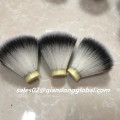20mm Fan Shape Silver Synthetic Hair Knot