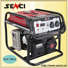 Senci Brand 1kw-20kw Single Phase Electric Portable Lightweight Generator