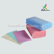 Pano de limpeza descartável não tecido seco antibacteriano das limpezas