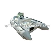 bateau de fibre de verre coque nervure HH-RIB390 avec CE