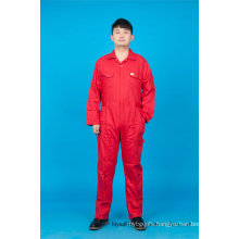 65% Polyester 35%Cotton High Quality Cheap Long Sleeve Safety Coverall Uniform (BLY1019)
