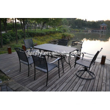 UK high quality cast aluminum table and chairs set