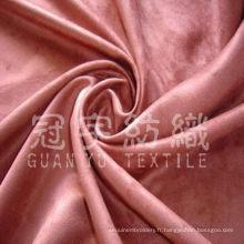 Tissu Sfa composé de daim polyester super doux en Soldes