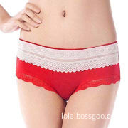 Women's Panties, Made of Nylon and Spandex, Customized Jacquard and Embroidery are Accepted