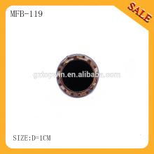 MFB119 benutzerdefinierte Metall Perle Prong Snap-Tasten / Frühjahr Snap-Taste für Jeans