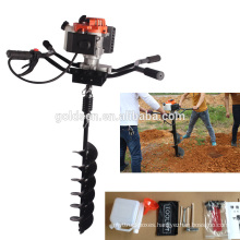 82cc 3200w Hand-Held Manual Fence Post Hole Digger Portable Hand Ground Drill Earth Auger