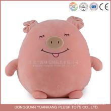 Precio de fábrica relleno chillón rosado suave del juguete de 15cm spandex
