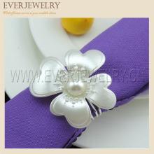 Cheap Pearl Napkin Ring for Dinner Party