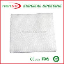 Henso compresión de gasa blanqueada esponjas