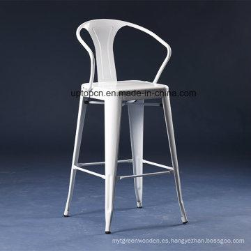Suministro de fábrica Silla de barra industrial de metal duradero colorido (SP-MC040)