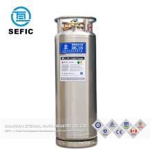 Stainless steel Dewar cylinder for Liquid oxygen/Nitrogen/Argon Liquid CO2 Cylinder