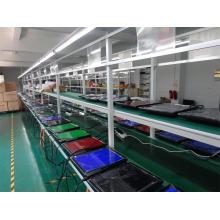 Sistema de correias transportadoras para linha de montagem de portáteis