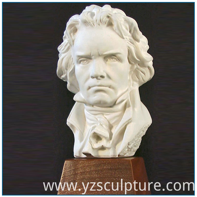 marble Beethoven bust