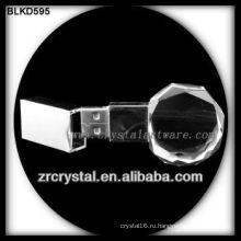 к9 3D лазерный кристалл USB флэш-диск BLKD595