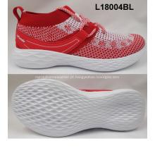 tecido flyknit e sapatilha sapatos de desporto para mulheres