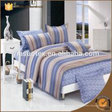 Popular padrão casa de algodão cama conjunto