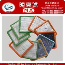 Bentonite de sódio Geosynthetics Clay Liner para aterros sanitários