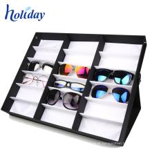 Cremalheira competitiva dos óculos de sol do cartão ondulado, cremalheira de alta qualidade dos óculos de sol da exposição de Eyewear
