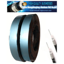 Ruban adhésif en aluminium polyamide Mylar à bord libre pour câbles Shelding