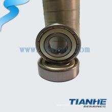 Roulement à billes miniature à haute performance rentable 603 ZZ fabriqué en Chine
