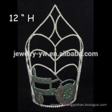 cheap wholesale hair accessories tall pageant handmade tiaras