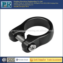 Custom high precision hot sale aluminium seat post clamp