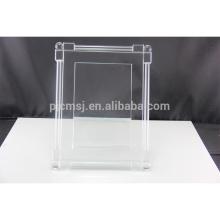 Mais recente design de qualidade superior decoração moldura de cristal de foto