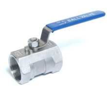 Threaded satu potongan Ball Valve