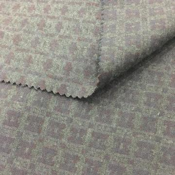 Two Layers Worsted Woven Fabric