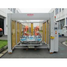 Máquina de soldadura ultrasónica robótica