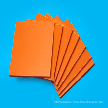 Placa fenólica laminada de papel isolante laranja