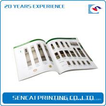 High quality Custom wholesale magazine/catalogue/brochure printing