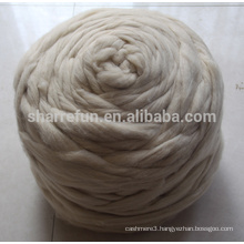 Promotional Chinese Wool Top Roving Fiber Spinning Felting Weaving