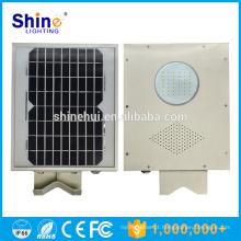 Fácil de Instalar 5W Solar Led Integrado jardim Luz Yard Light