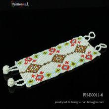 bracelet croix avec superbe bricolage