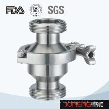 Vanne de contrôle sanitaire à filetage en acier inoxydable (JN-NRV1003)