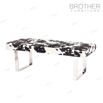 High Quality upholstered bed end bench for waiting room