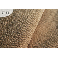 Tissu de sofa de Jacquard de haute qualité brun foncé, concepteurs de Chine