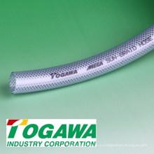 Гибкий мягкий плетеный МЕГА солнце оплетки шланг изготовлен из ПВХ и нейлона. Выпускаемые промышленностью реконструированная гостиница для паломников togawa. Сделано в Японии (удлинительный шланг)