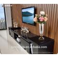 Jarra de cristal romántica superficie poco clara mejores jarrones de cristal decorativos para centros de mesa de la boda con funda extraíble