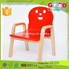 DC008 Nursery preescolar sillas de madera al por mayor