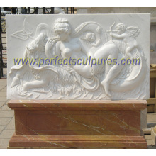 Carving Stone Marble Sculpture Relief for Wall Hanging Decoration (SY-R058)