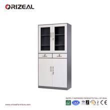 Cabinet en acier de deux pièces de milieu d'Orizeal (OZ-OSC006)