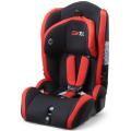 Baby-Autositz mit blau-grau-Abdeckung