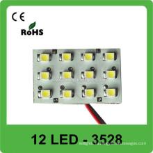 3528 Dome Light 12V LED Крыша для автомобилей