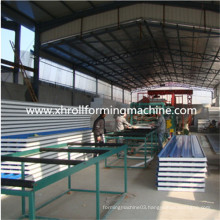 Color Steel Sheet Sandwich Panel Machine