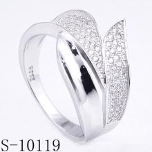 Новый дизайн 925 Серебряный ювелирных изделий женщин кольцо с цирконом (с-10119)