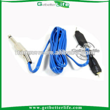 1,8 M azul comum Clip cabo para alimentação de máquina de tatuagem