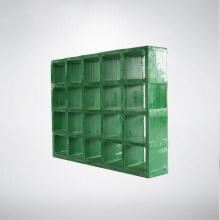 Противомикробная решетка из серого стекловолокна, устойчивая к скольжению, огнестойкая, со стандартным допуском